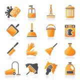 清洁和卫生学象 库存例证