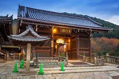 清水寺佛教寺庙在京都,日本 图库摄影