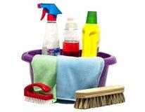清洁工具 免版税库存照片