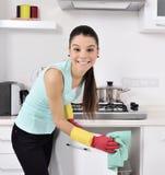 清洗房子 库存照片
