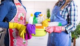 清洁服务概念 库存图片