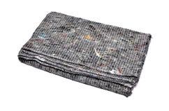 清洗的地板的干燥软的布料 库存照片