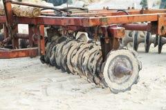 清洗的海滩的设备 免版税库存图片