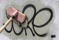 清洁街道画 免版税库存图片