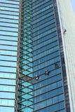 清洁高度视窗工作 库存照片