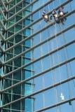 清洁高度视窗工作 免版税库存照片