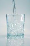 清洗水晶水 免版税图库摄影