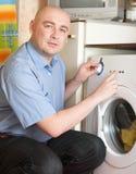 清洁洗衣店 库存照片
