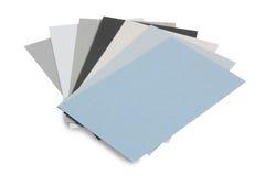 渐进性灰色纸张 免版税库存照片