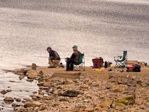 渔人 图库摄影