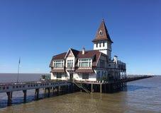 渔俱乐部在布宜诺斯艾利斯 免版税库存照片