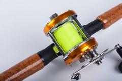 渔卷轴 图库摄影