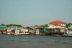 渔场社区 免版税库存图片
