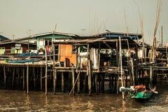 渔场社区 免版税库存照片