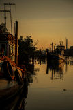 渔场社区 库存照片