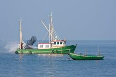 渔场船 免版税图库摄影