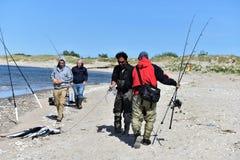 渔夏季在纽约地区 图库摄影