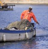 渔夫。 免版税库存图片
