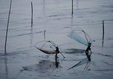 渔夫二 库存照片