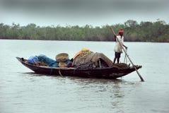渔夫印地安人 免版税库存图片