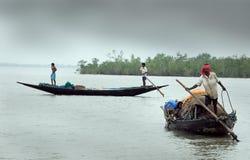 渔夫印地安人 库存照片