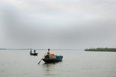 渔夫印地安人 库存图片