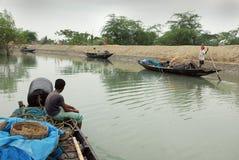 渔夫印地安人 图库摄影