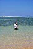 渔夫印度尼西亚语 库存图片