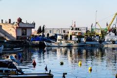渔夫在明亮的天-土耳其保护 免版税库存图片