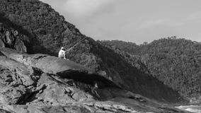 渔夫在特林达迪, Paraty,里约热内卢 库存图片