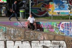 渔夫在维也纳 库存照片