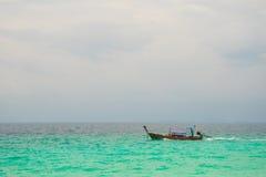 渔夫在krabi镇4 库存照片