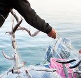 渔夫工作 库存图片