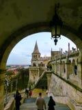 渔夫布达佩斯,匈牙利城堡小山的` s本营  免版税图库摄影