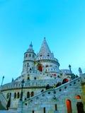 渔夫布达佩斯,匈牙利城堡小山的` s本营  库存照片