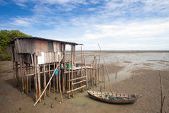 渔夫房子 库存图片