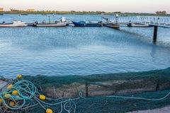 渔夫村庄在葡萄牙 免版税库存照片