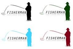 渔夫标志 库存图片