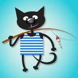 渔夫猫 免版税图库摄影
