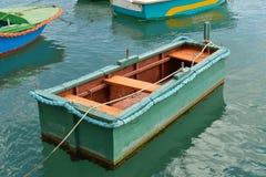 渔夫的小船在马耳他 库存图片