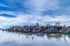 渔夫的村庄 库存图片