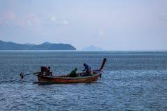 渔夫酸值朗塔海岛泰国 免版税库存图片