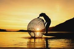 渔夫 库存照片