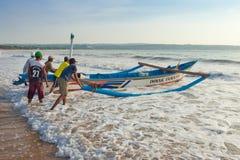 渔夫 免版税图库摄影