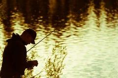 渔夫 图库摄影