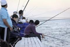渔夫 免版税库存照片