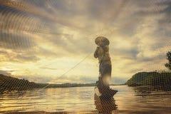 渔夫 免版税库存图片