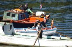 渔夫Angelmo,智利 免版税图库摄影