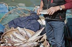 渔夫lantau 免版税图库摄影