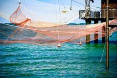 渔小屋 免版税库存图片